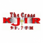 Logo da emissora Radio KJIR 91.7 FM