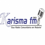 Logo da emissora Rádio Karisma 98.1 FM