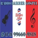 Logo da emissora Rádio Barber Gospel