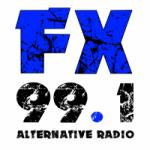 Logo da emissora FX 99.1 FM KFXY-LP