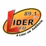 Logo da emissora Rádio Líder 89.1 FM