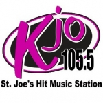 Logo da emissora Radio KKJO 105.5 FM
