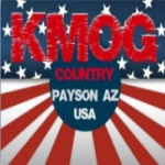 Logo da emissora KMOG 1420 AM & 103.3 FM