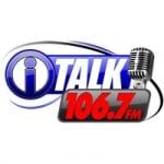 Logo da emissora KNKI 106.7 FM