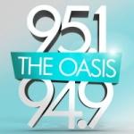 Logo da emissora KOAI The Oasis 95.1 FM