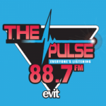 Logo da emissora KPNG 88,7 FM PULSE