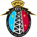 Logo da emissora KPYT-LP 100.3 FM