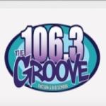Logo da emissora KTGV 106.3 FM