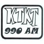 Logo da emissora KTKT 990 AM