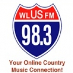 Logo da emissora WLUS 98.3 FM