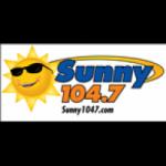 Logo da emissora KVNA 104.7 FM SUNNY