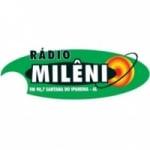 Logo da emissora Rádio Milênio 90.7 FM