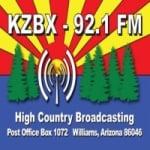 Logo da emissora Radio KZBX 92.1 FM