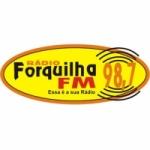 Logo da emissora Rádio Forquilha 98.7 FM