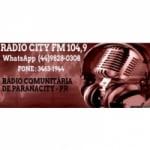 Logo da emissora Rádio City 104.9 FM