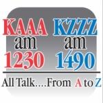 Logo da emissora Radio KZZZ 1490 AM