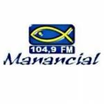 Logo da emissora Rádio Manancial 104.9 FM