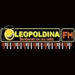 Logo da emissora Leopoldina FM