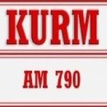 Logo da emissora Radio KURM 790 AM