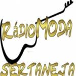 Logo da emissora Rádio Moda Sertaneja