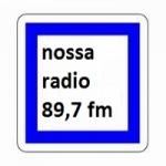 Logo da emissora Rádio Nossa 89.7 FM