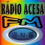 Logo da emissora Rádio Acesa 87.5 FM
