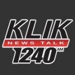 Logo da emissora KLIK 1240 AM