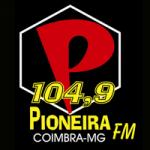 Logo da emissora Rádio Pioneira 104.9 FM