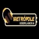 Logo da emissora Metrópole - Uberlândia