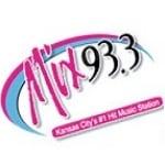 Logo da emissora KMXV 93.3 FM