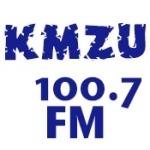 Logo da emissora KMZU 100.7 FM