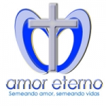 Logo da emissora Rádio Amor Eterno