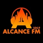 Logo da emissora Rádio Alcance 104.9 FM