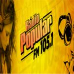 Logo da emissora Rádio Popular FM
