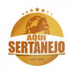 Logo da emissora Rádio Aqui Sertanejo