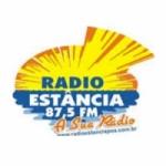 Logo da emissora Rádio Estância 87.5 FM