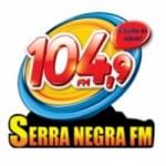 Logo da emissora Rádio Serra Negra 104.9 FM