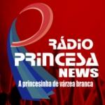 Logo da emissora Rádio Princesa News