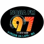 Logo da emissora Rádio Nossa