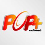 Logo da emissora Pop Mais Rádio Web