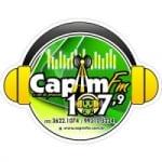 Logo da emissora Rádio Capim FM 107.9