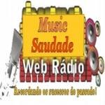 Logo da emissora Rádio Web Music Saudade