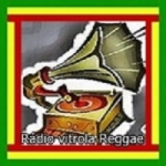 Logo da emissora Vitrola Reggae Belém