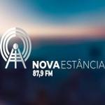 Logo da emissora Rádio Nova Estância 87.9 FM