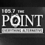 Logo da emissora KPNT 105.7 FM