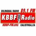 Logo da emissora Radio KBBF 89.1 FM