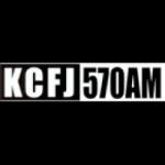 Logo da emissora Radio KCFJ 570 AM
