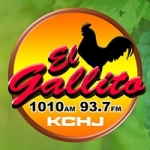 Logo da emissora Radio KCHJ 1010 AM