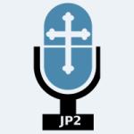 Logo da emissora Radio KCJP-LP 95.7 FM