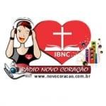 Logo da emissora Rádio Novo Coração